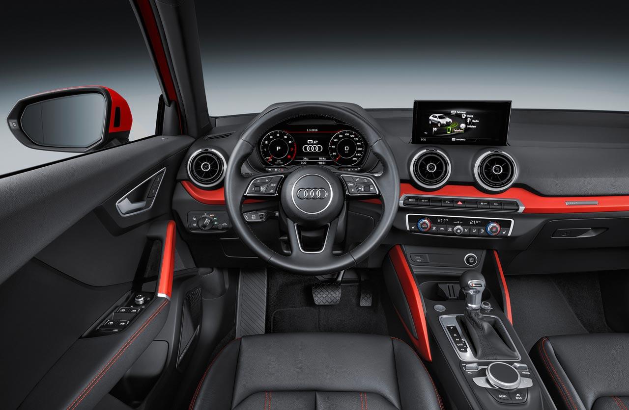 Interior Audi Q2