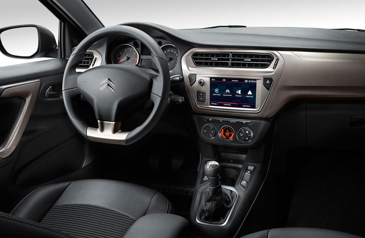 Interior Nuevo Citroën C-Elysée