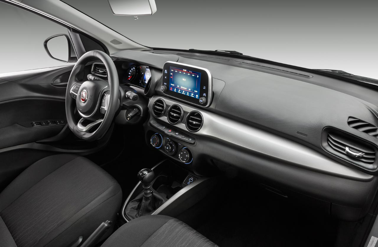 Interior Fiat Argo Drive