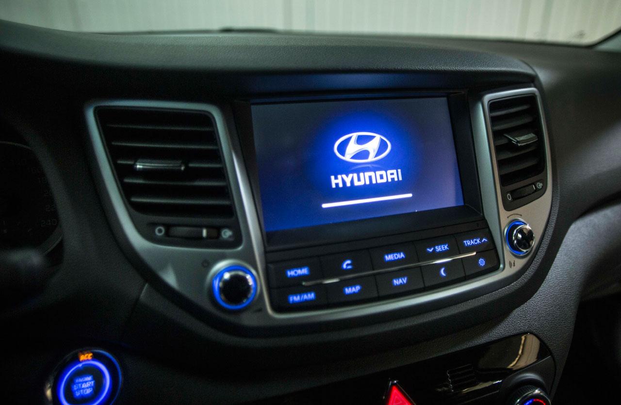 Interior Hyundai Tucson