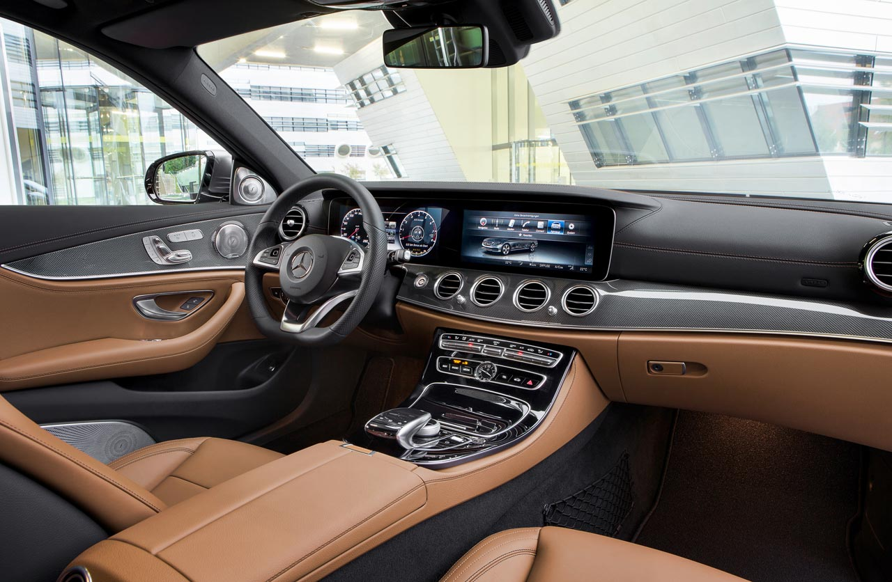 Interior Mercedes-Benz Clase E