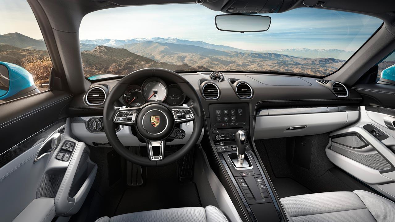 Interior Porsche 718 Cayman S