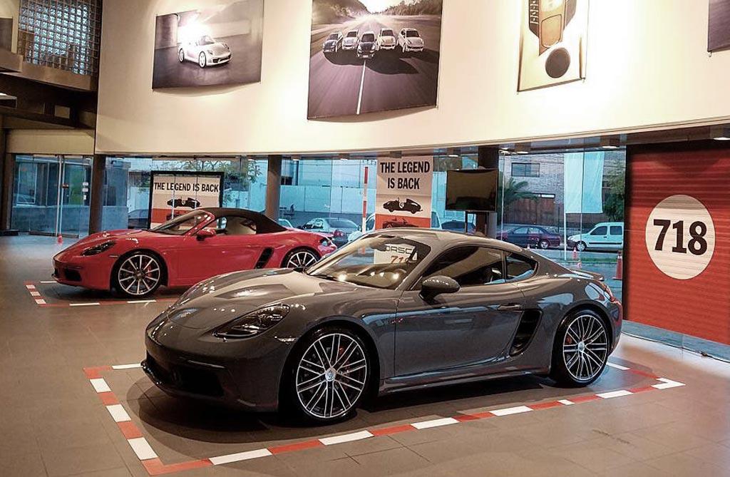 Llegaron los nuevos Porsche 718 Boxster y Cayman