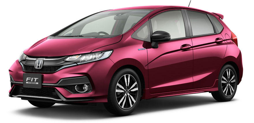 Honda Fit 2018 facelift