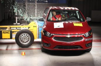 Latin NCAP: cero estrellas para el Chevrolet Onix