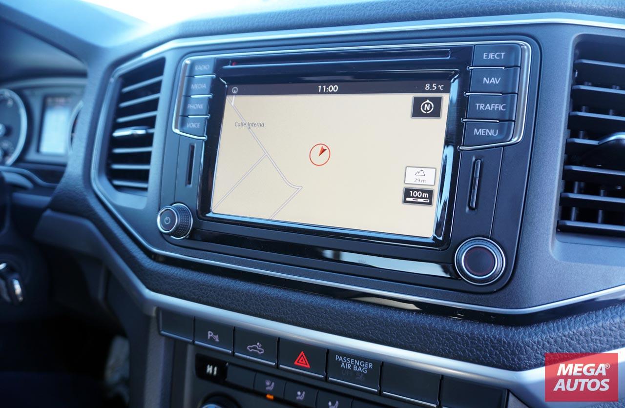 Interior Amarok V6