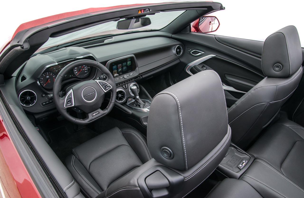 Interior Chevrolet Camaro SS Convertible