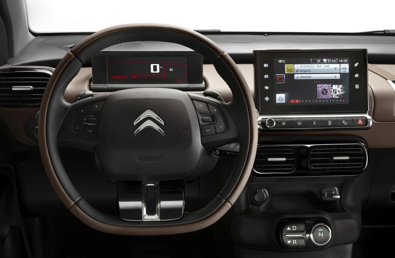 Interior Citroën C4 Cactus