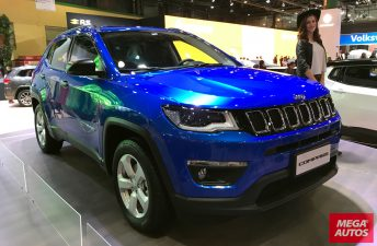 Jeep muestra el Compass que llegará en septiembre