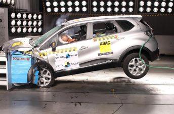 Latin NCAP: cuatro estrellas para el Renault Captur