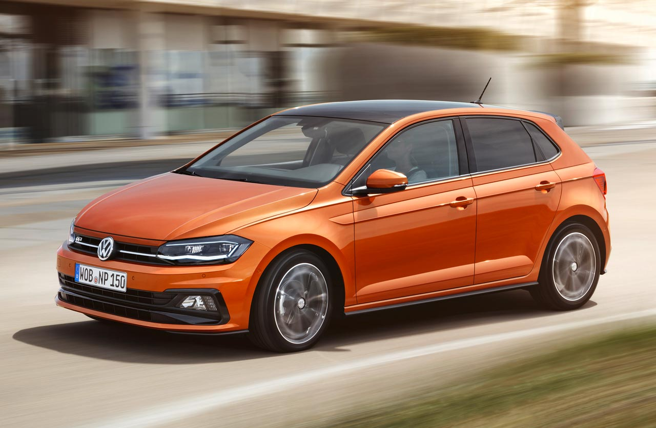 as es el volkswagen polo que llegar al pa s en 2018 mega autos. Black Bedroom Furniture Sets. Home Design Ideas