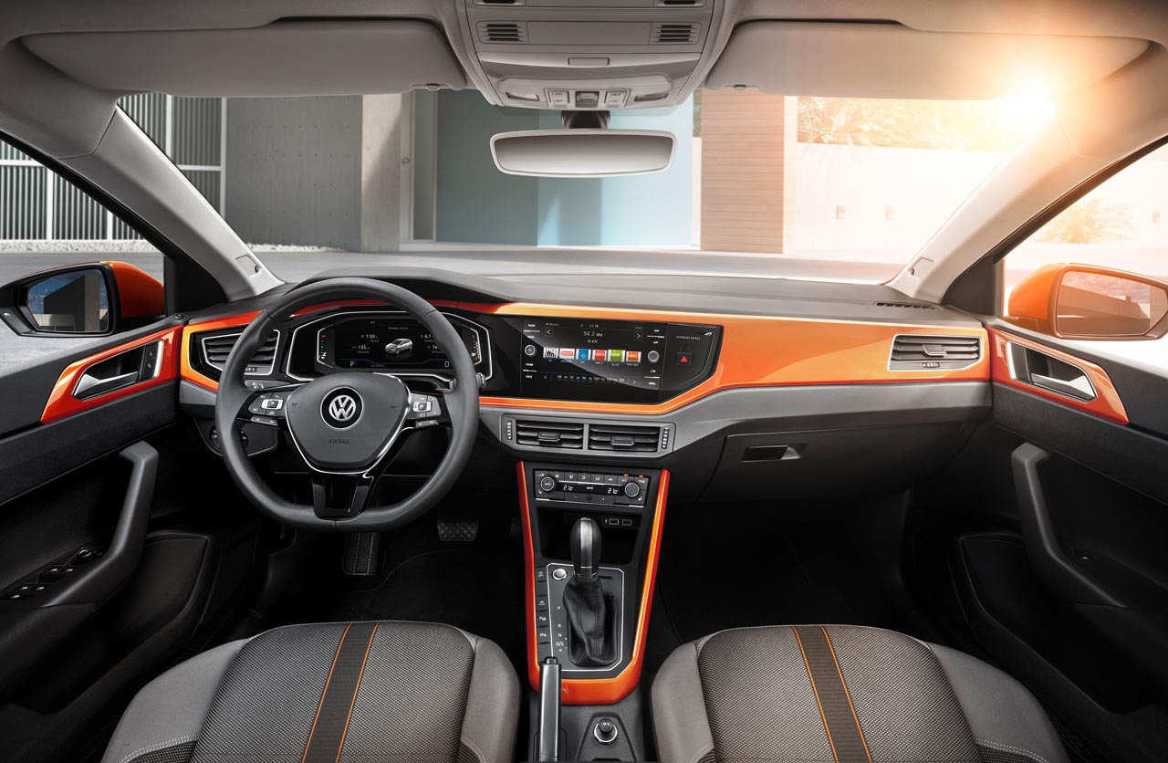 Interior VW Polo GT Line 2018