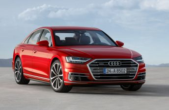 Audi presentó la cuarta generación del A8