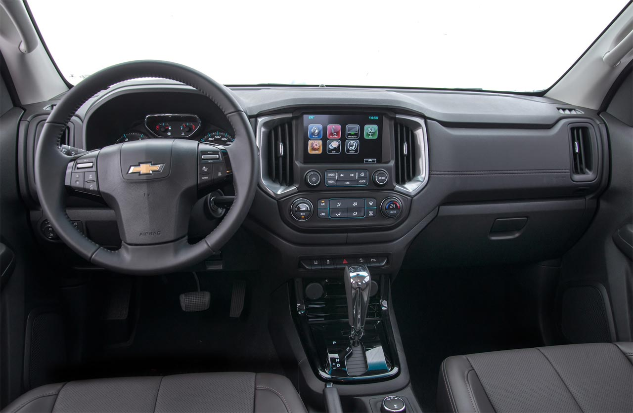 Interior Chevrolet S10 2018