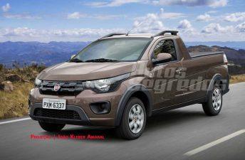 Fiat produciría la pick up del Mobi