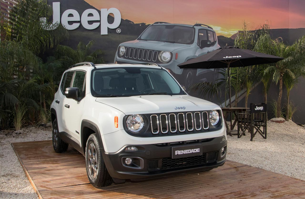 Jeep en La Rural