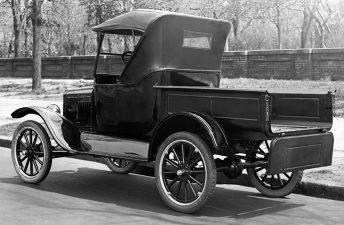 Se cumplen 100 años de la primer pick up de Ford