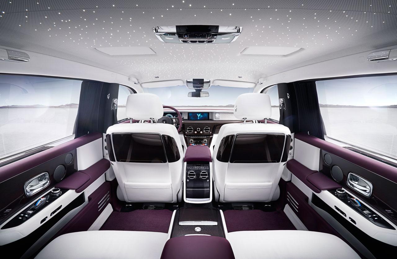Interior Nuevo Rolls Royce Phantom
