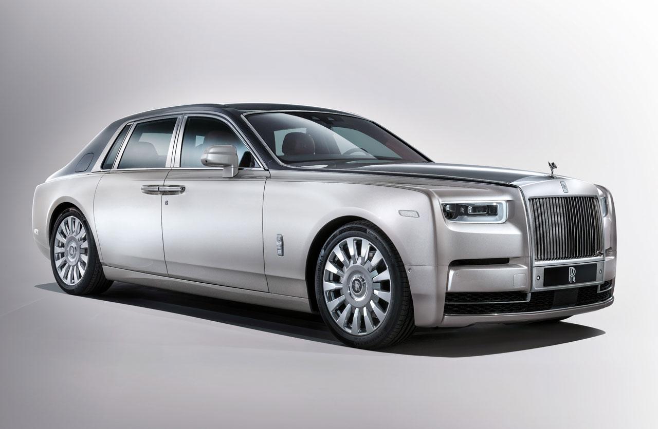 Lujo por doquier: con ustedes, la nueva generación del Rolls Royce Phantom