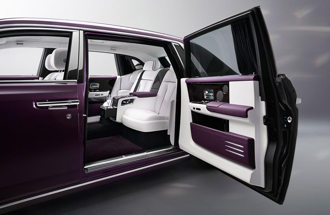 Interior Rolls Royce Phantom