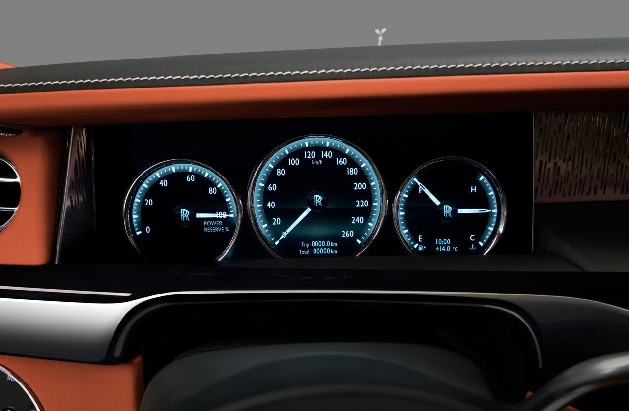 Tablero Rolls Royce Phantom