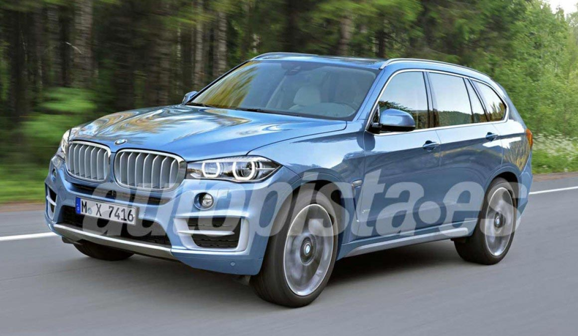 BMW X7 proyección