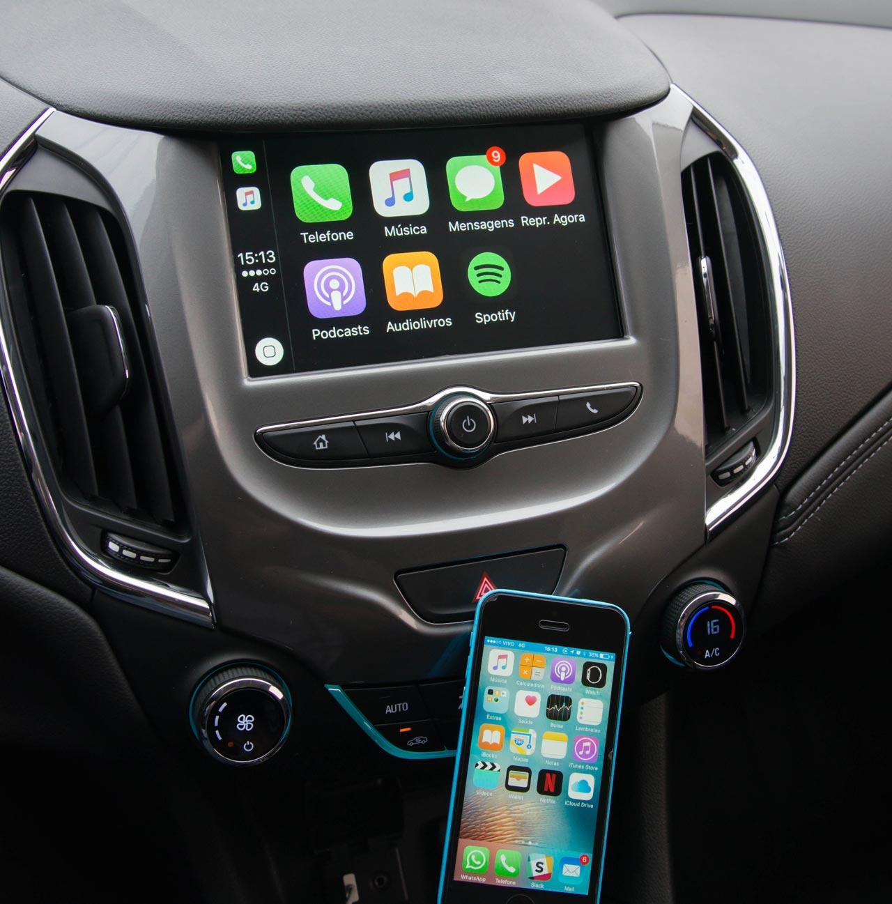 Interior Chevrolet Cruze 2018