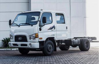 Hyundai lanzó el camión HD65 Doble Cabina en Argentina
