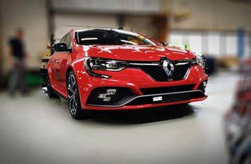 Este es el nuevo Renault Mégane RS