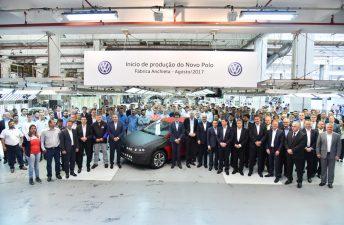 Volkswagen Polo: inicio de la producción en Brasil