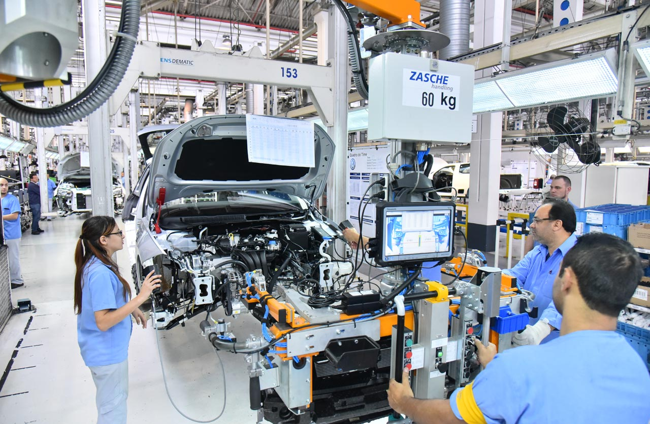 VW Polo producción Brasil