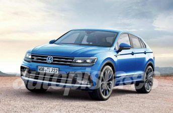 Habrá una Volkswagen Tiguan Coupé