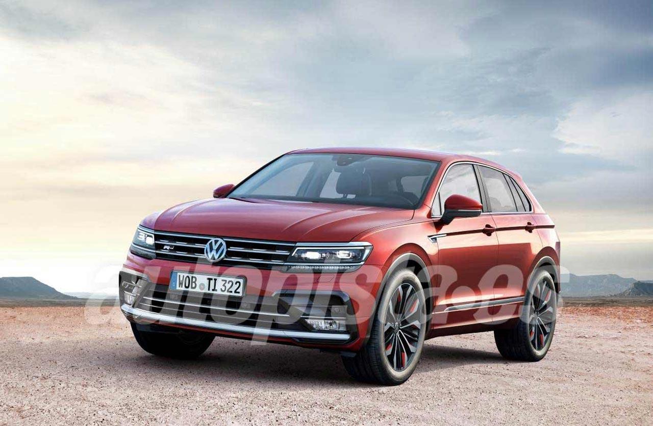Volkswagen Tiguan Coupé