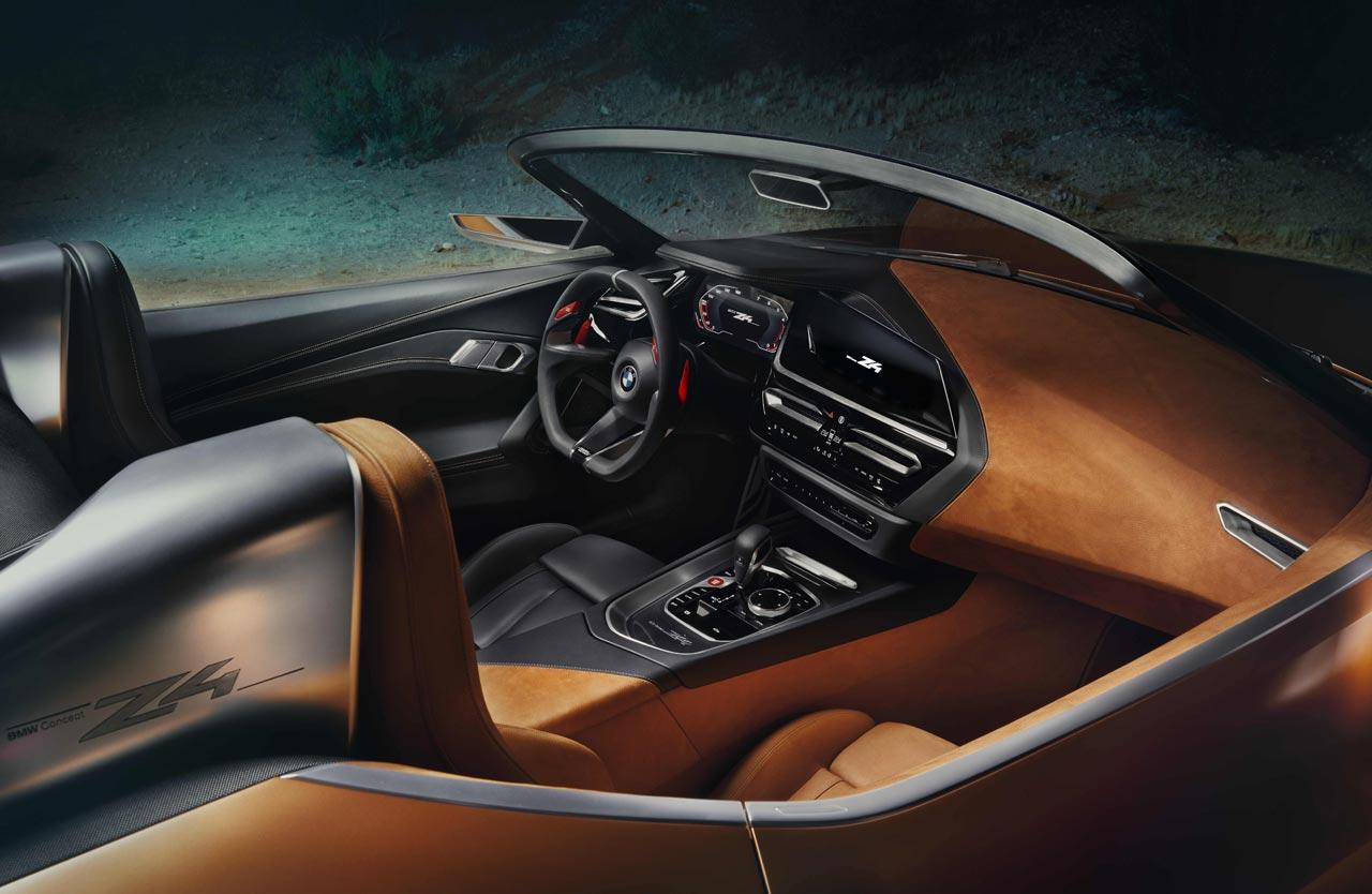 Interior BMW Concept Z4