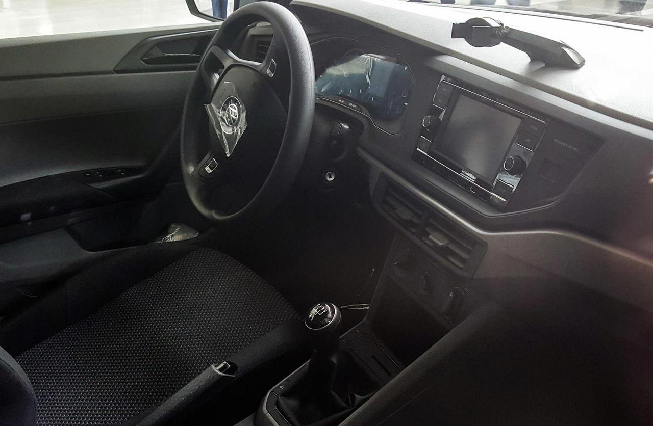 Así es el interior del nuevo Volkswagen Polo regional