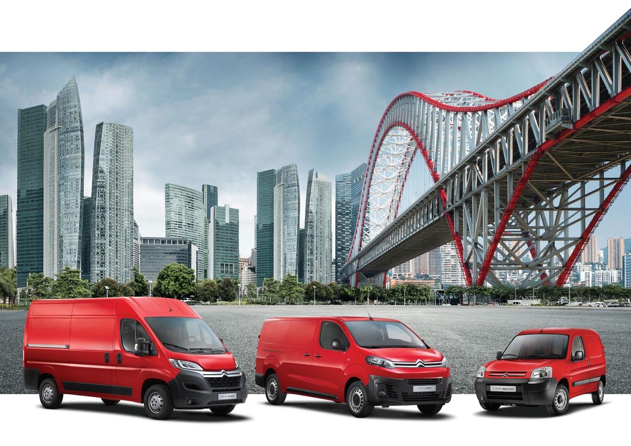 Nueva gama de utilitarios Citroën Argentina