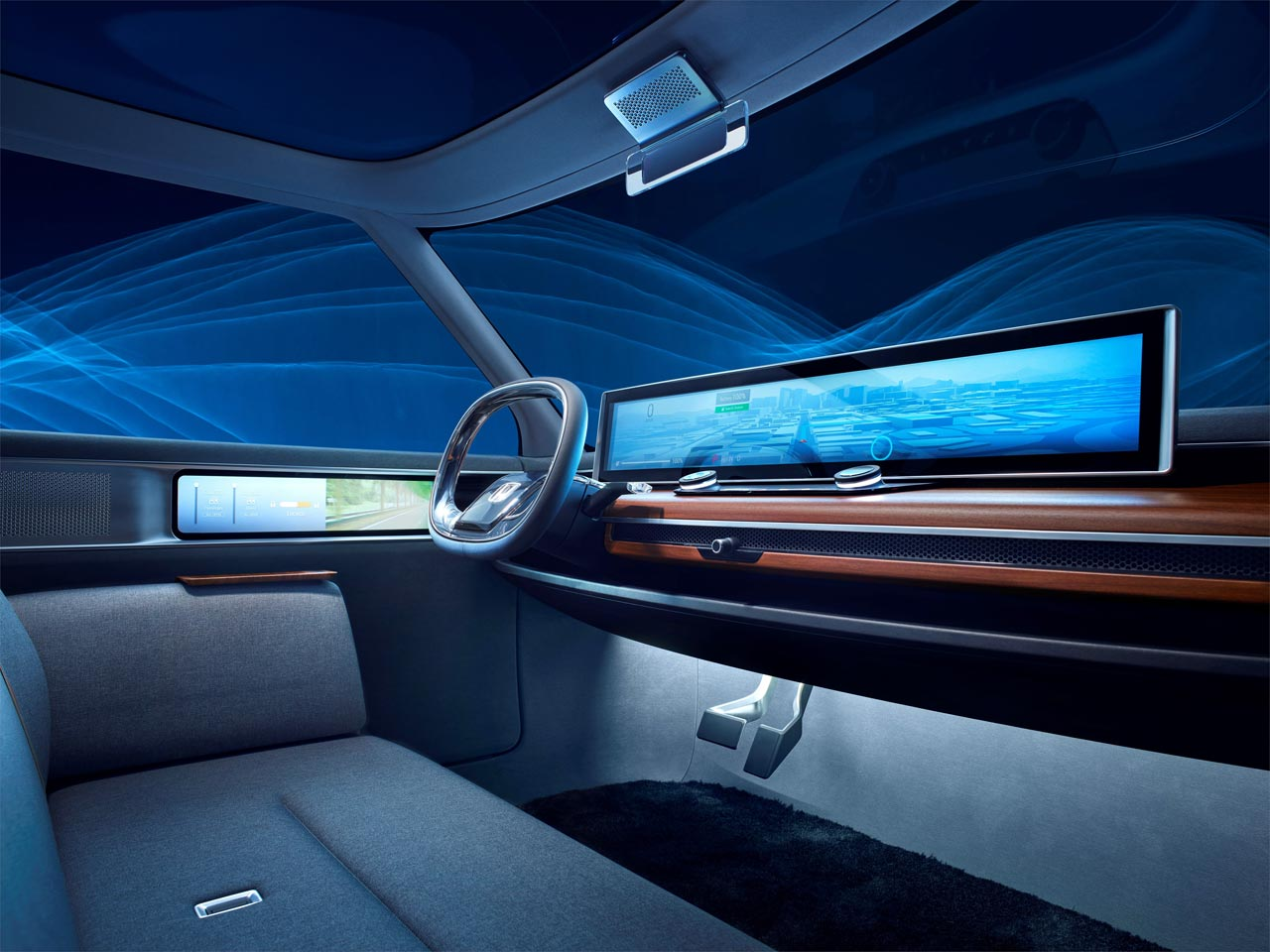 Interior Honda Urban EV Concept