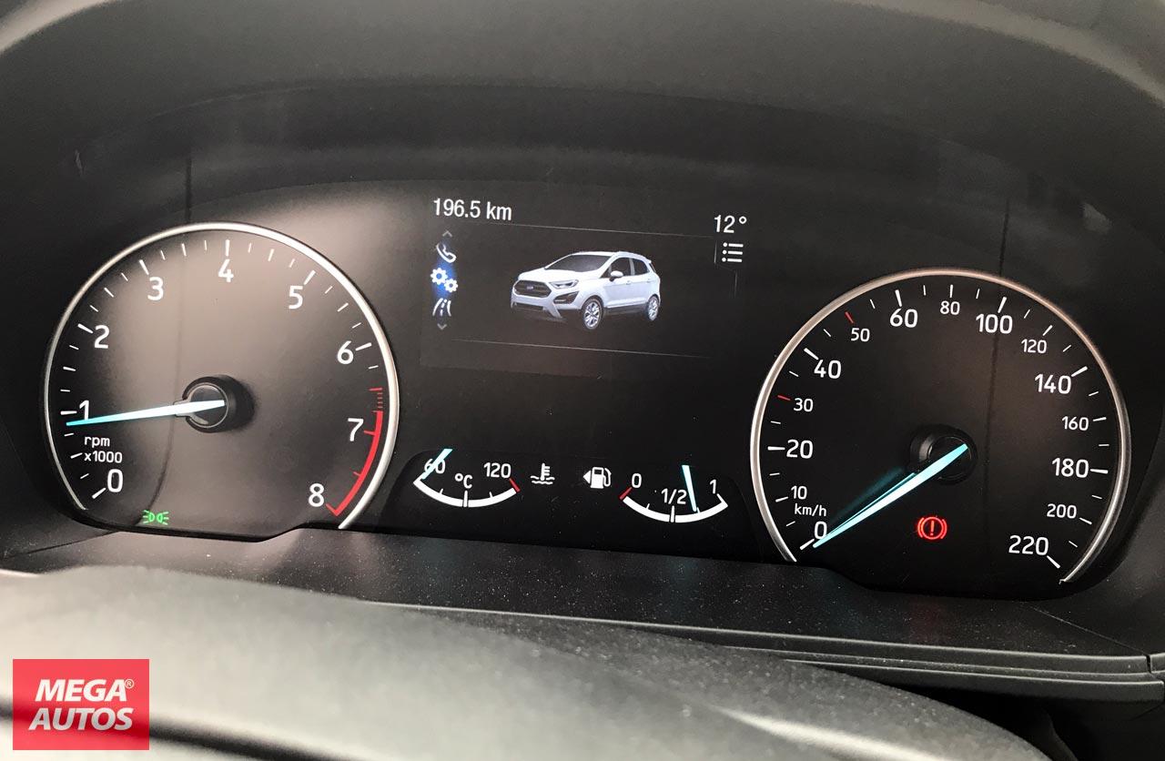 Tablero Nueva Ford EcoSport