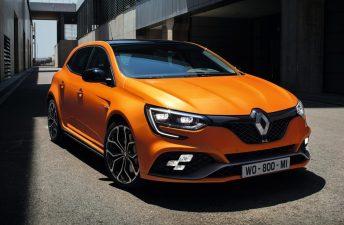 Renault presentó el MéganeR.S. en Frankfurt