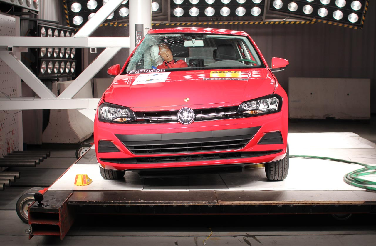 Volkswagen Polo crash test Latin NCAP
