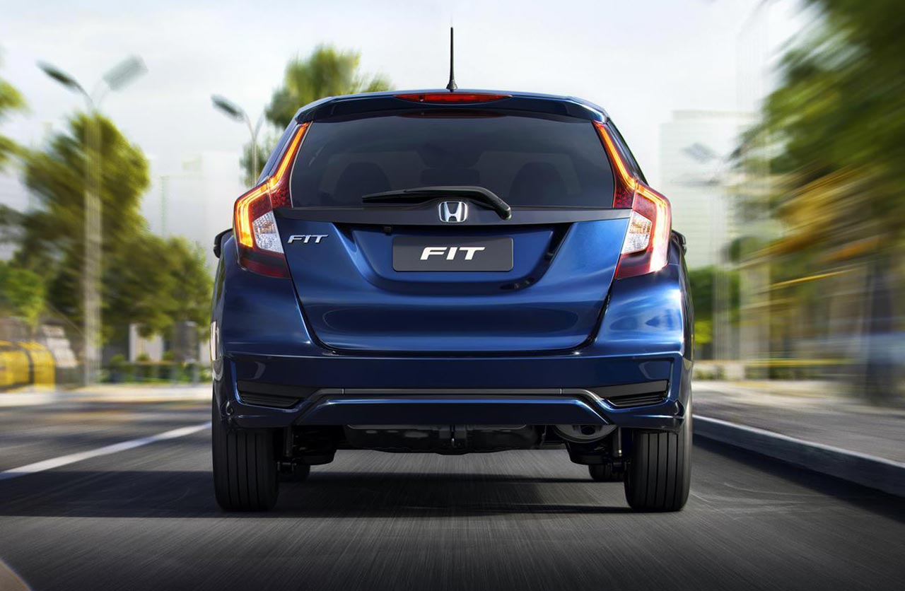 Honda Fit 2018 Brasil