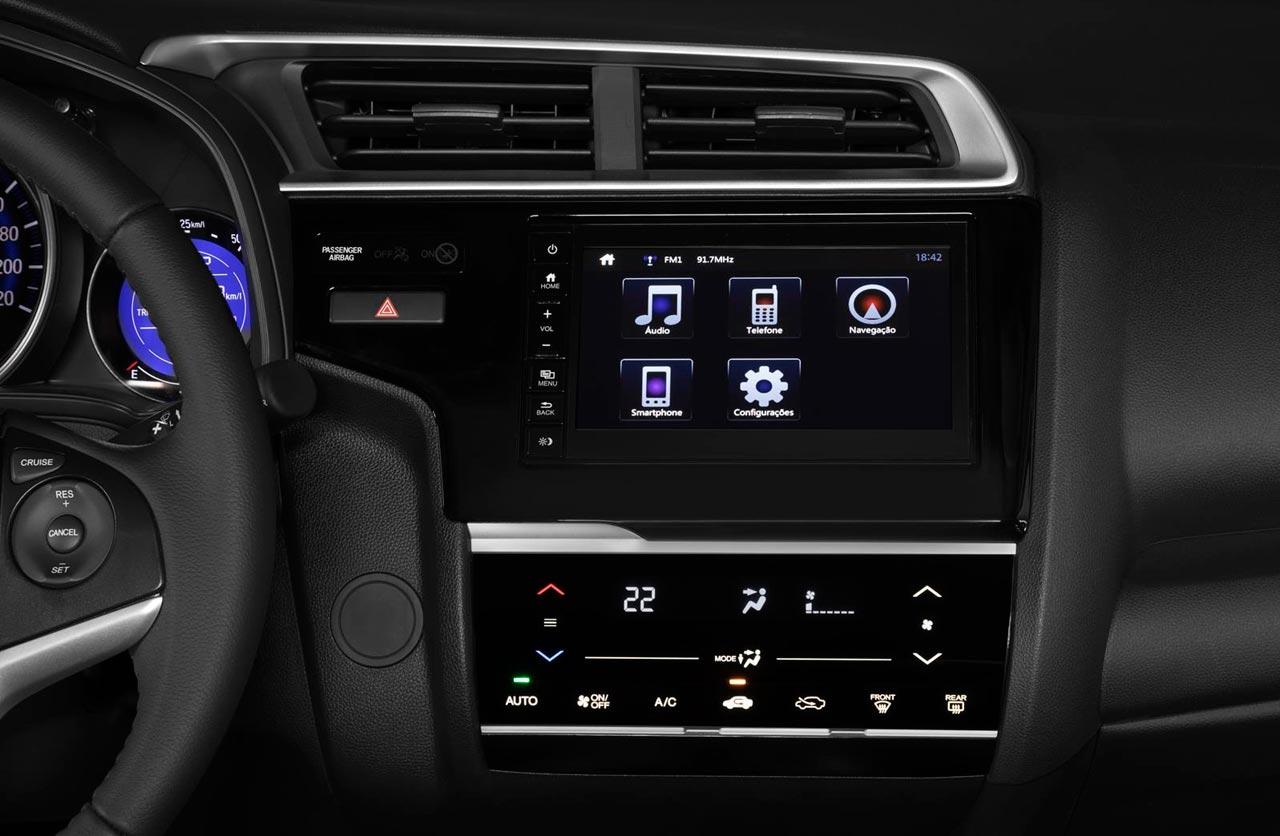 Interior Honda Fit 2018 Brasil