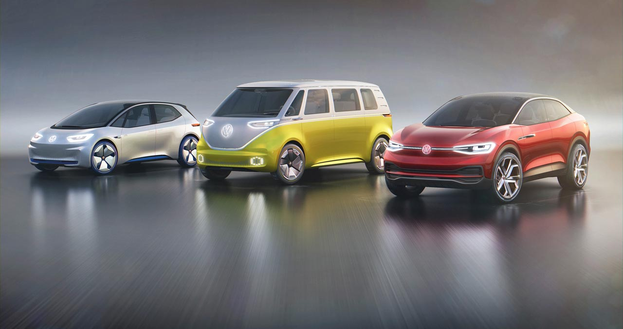 Familia VW I.D. eléctricos