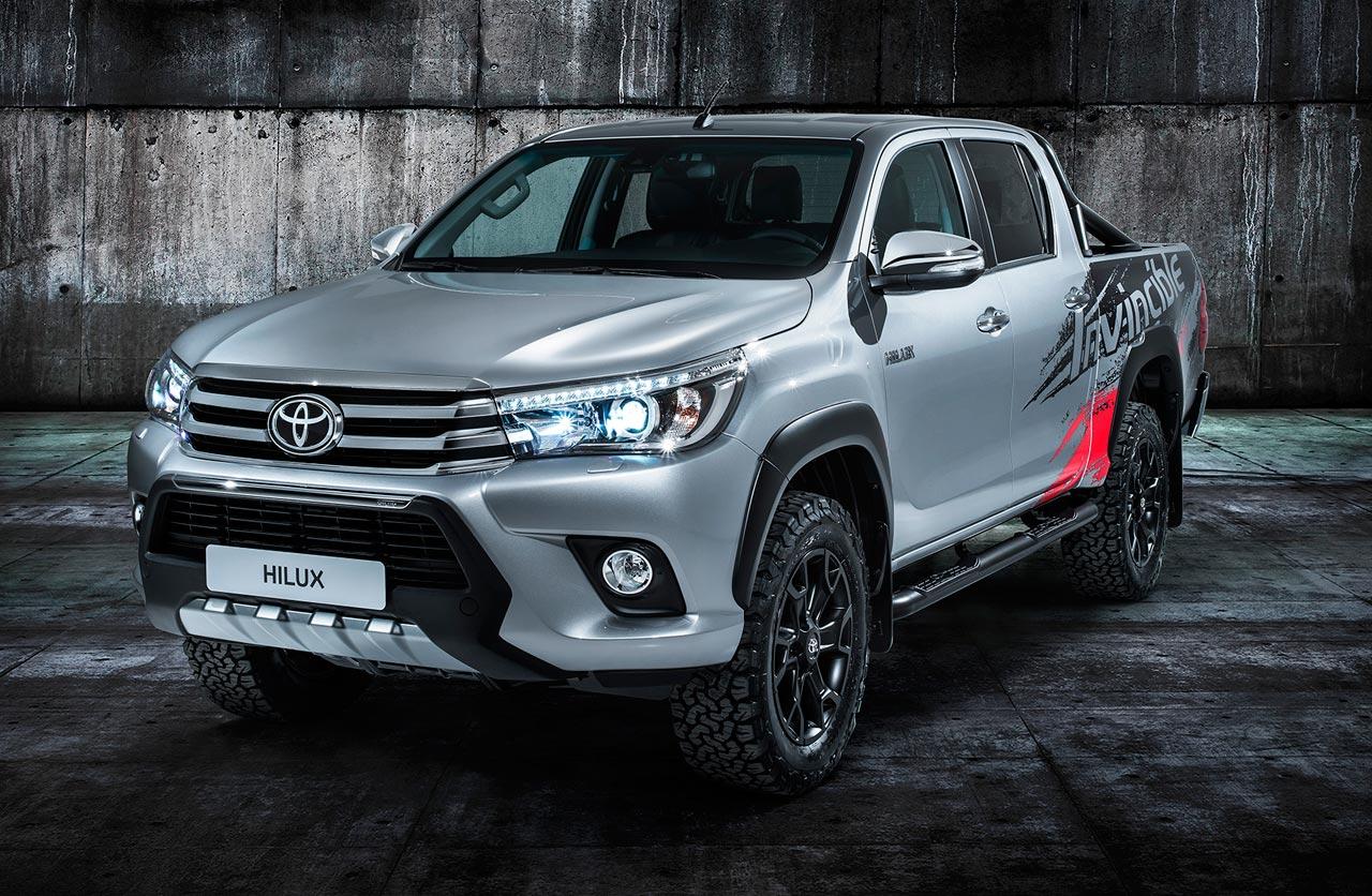 Hilux Invincible: 50 años de la pick up de Toyota