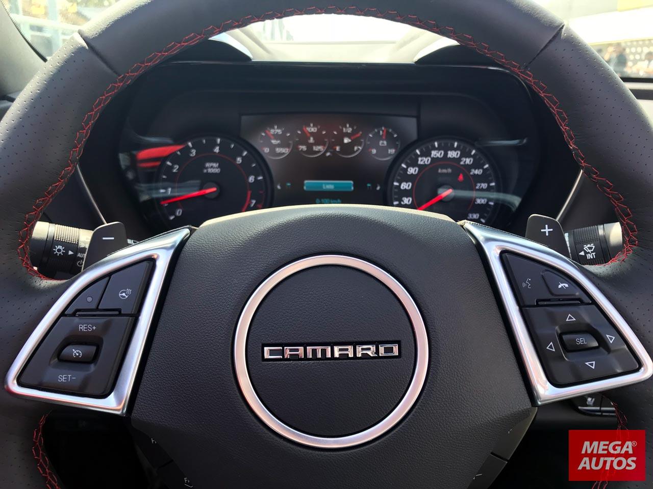 Interior Chevrolet Camaro Cabrio
