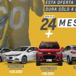 Chevrolet con importantes ofertas para la compra de Onix, Cruze y Tracker