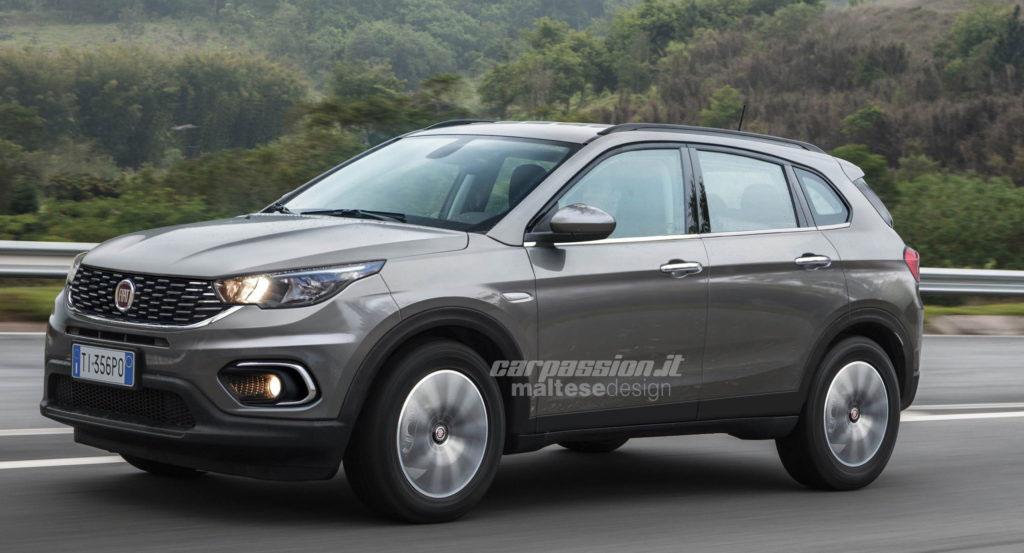 ¿Fiat planea un SUV con el estilo del Argo? - Mega Autos