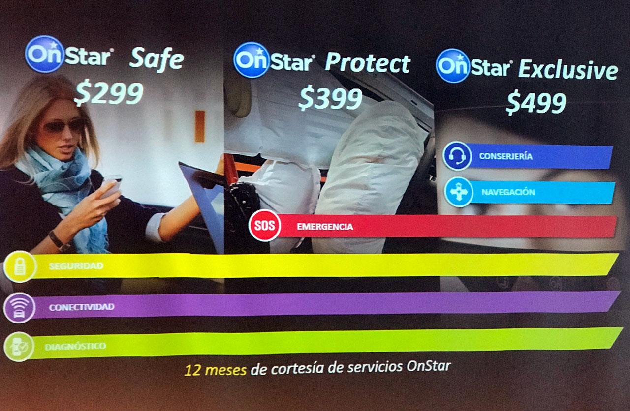 Planes OnStar Argentina