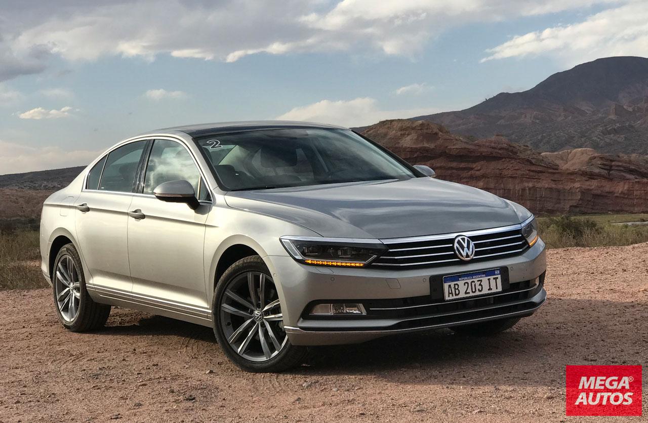 Manejamos en Salta el nuevo Volkswagen Passat