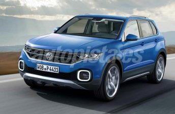 Nuevo anticipo del futuro SUV chico de Volkswagen